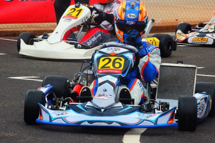 EKR Kart Racing a por la victoria en Alcañiz.