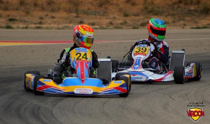 CEK Senior - Javier Rodelas y Andriy Pits ganan en Motorland, el piloto portugués se hace con el campeonato.