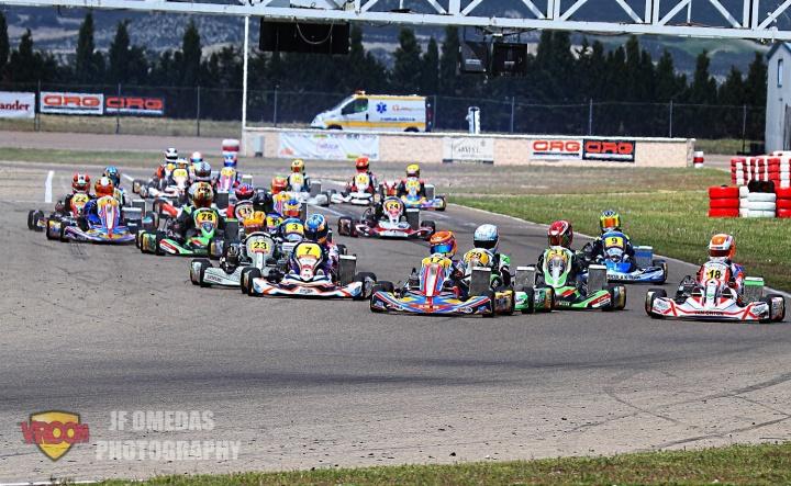 CEK - Clasificatorias disputadas, todo listo para las carreras en Zuera