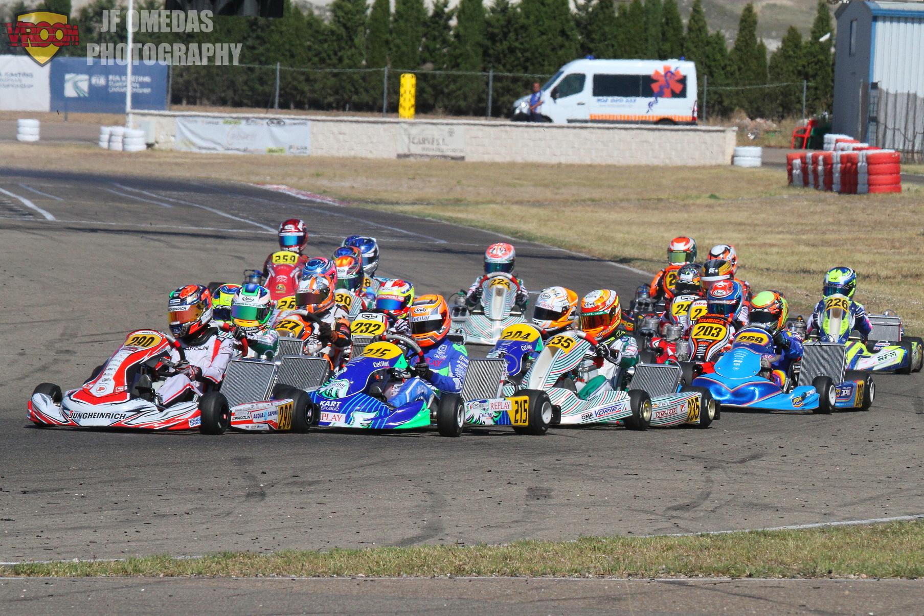 Campeonato de Europa OK/OKJ: nueve pilotos españoles en las finales