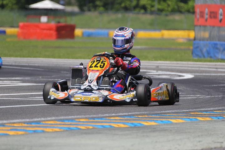 Mauricio Van der Laan quinto en Castelletto