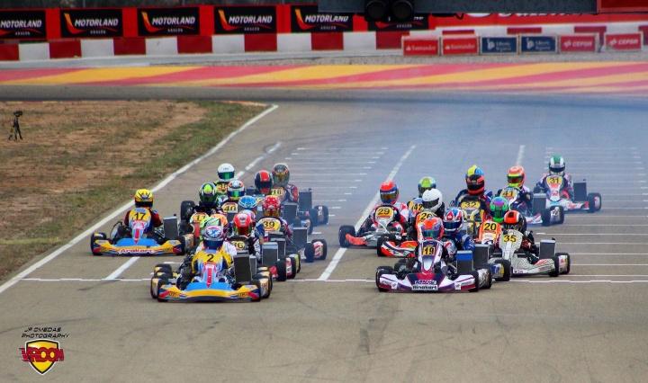 CEK Motorland Junior - Victorias para Marta García y Carlos León, Eliseo Martínez Campeón.