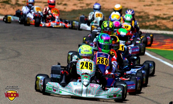 Series Rotax - Paso de ecuador en el Karting Correcaminos