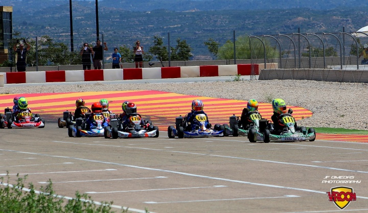 "Series Rotax Mini - El ""perfect day"" de Quique Bordas"