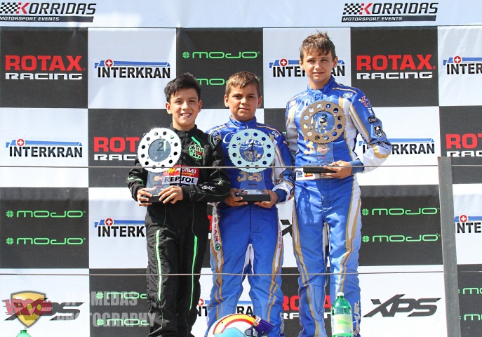 Series Rotax Chiva - Adrián Malheiro más líder en Mini