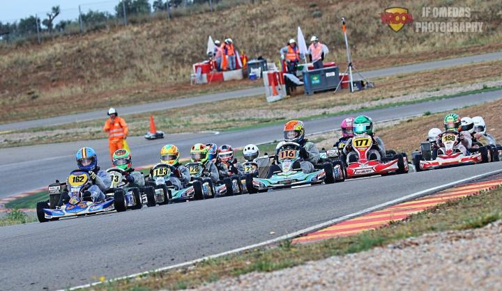 Series Rotax Mini - Reparto de victorias entre Nico Lavery y Félix Aparicio