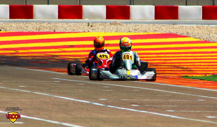 Series Rotax DD2 - Golpe de autoridad de Oriol Dalmau. Pérez-Santander líder en Masters
