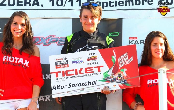 Los españoles de las Rotax Grand Finals - Aitor Sorozabal (Junior)
