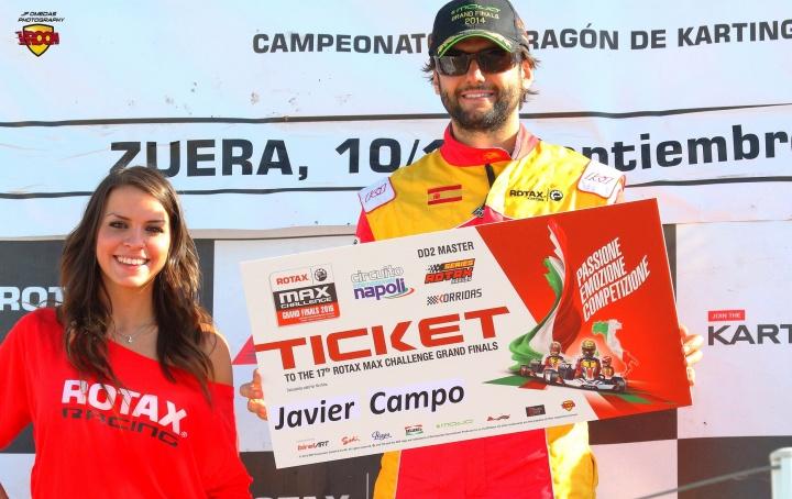 Los españoles de las Rotax Grand Finals - Javier Campo (DD2 Master)