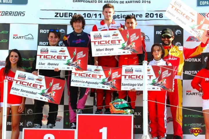 Series Rotax 2016 -  Broche de oro en Zuera