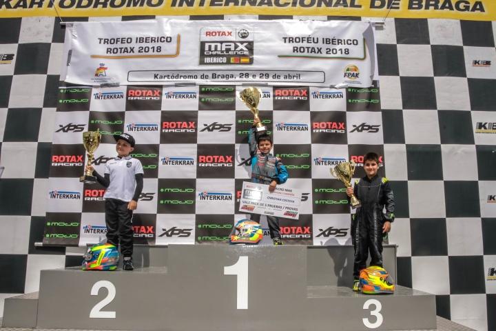 Trofeo Ibérico Micro - Christian Costoya campeón, doblete en Braga para José Pinheiro