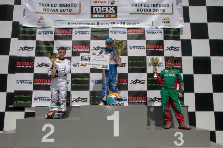Trofeo Ibérico Mini - Título para Adrián Malheiro, José Barros se impone en Braga