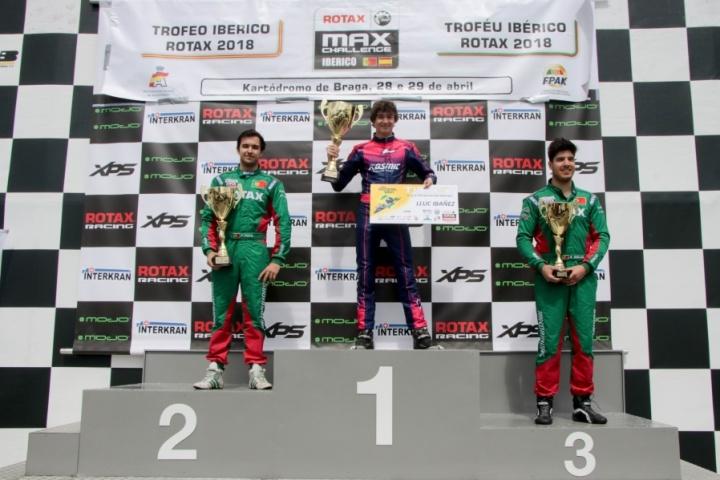 Trofeo Ibérico Rotax DD2: Lluc Ibáñez campeón rumbo a las Grand Finals 2018