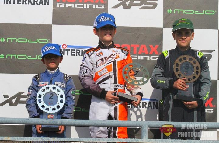 Victoria en carrera 1 y título para Lucas Fluxá, carrera 2 para Christian Costoya