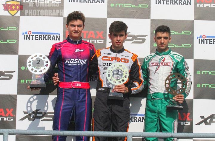 Series Rotax DD2 - Doblete y título para Mariano Pires en Motorland