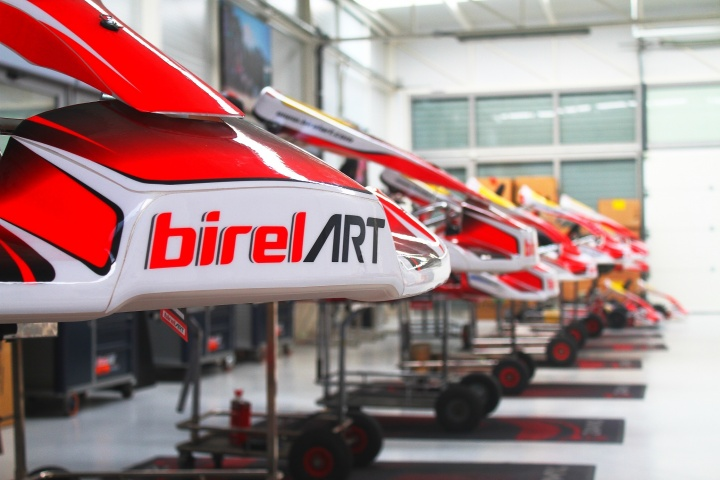 Birel Art Spain preparado para 2017