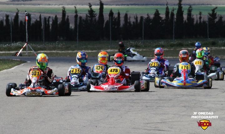 Copa Mojo - El gran espectáculo del karting no defraudó en Zuera