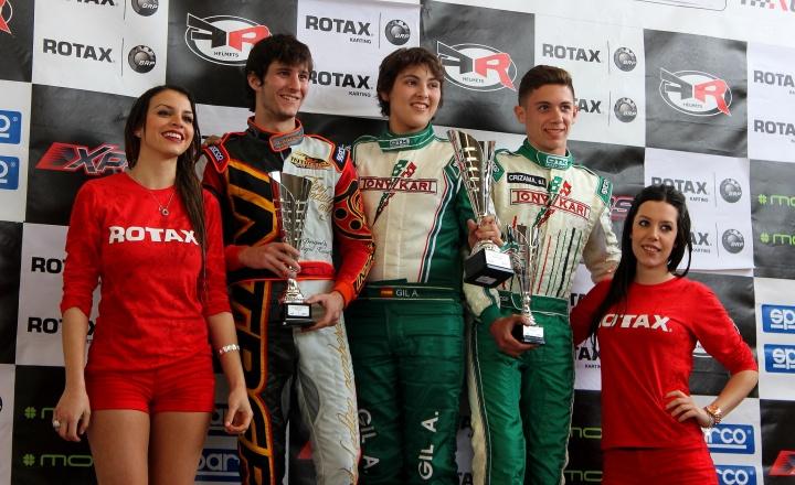 Copa de Invierno Rotax – Los primeros podios de la temporada