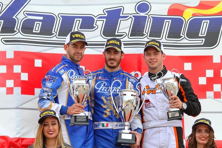 CEK Zuera KZ2 - Doblete Celenta-Pescador, Enrico Prosperi Campeón