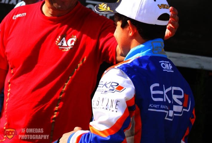 La unión EKR - AC Motorsport da el salto internacional
