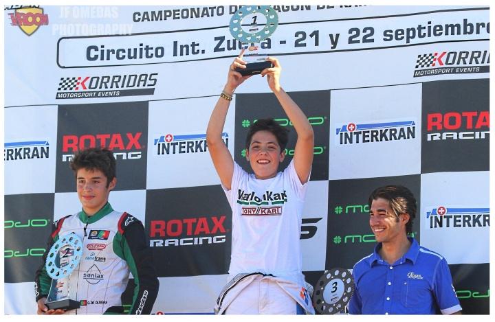 Series Rotax Junior - Meeting y carrera 1 para Adrián García, victoria de Santiago Concepción en carrera 2