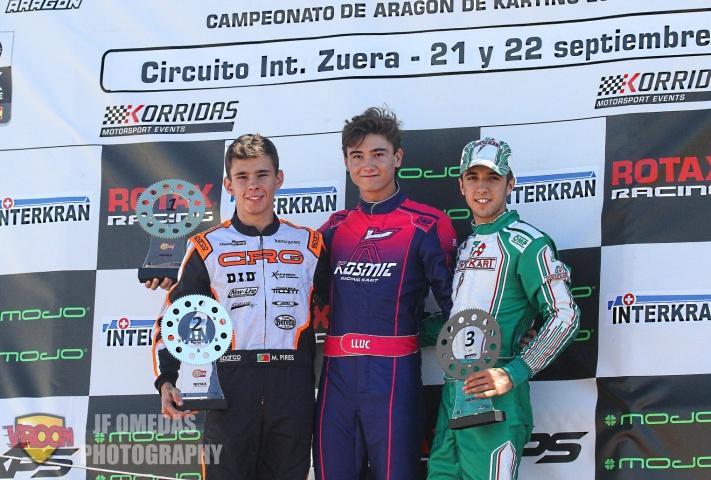 Series Rotax DD2 - Victorias de Lluc Ibáñez y Mariano Pires en Zuera