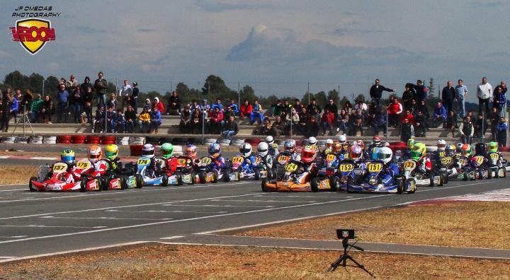 Series Rotax - Primeros ganadores de la temporada en el Kartodromo de Valencia