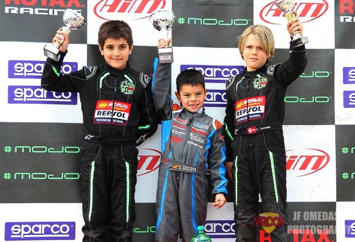 Trofeo Ibérico Rotax Micro - Doblete para Christian Costoya