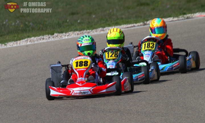 Series Rotax Mini - Debut y liderato para Santi Vallve