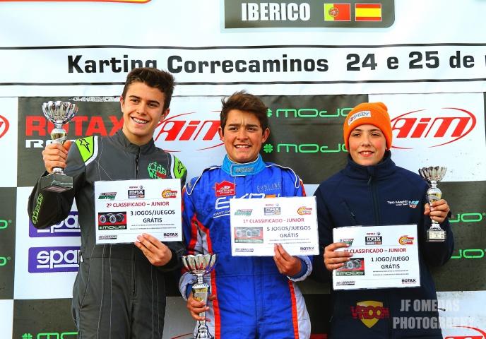 Primera carrera y meeting para Iván Bataller, victoria de Hugo López en carrera 2