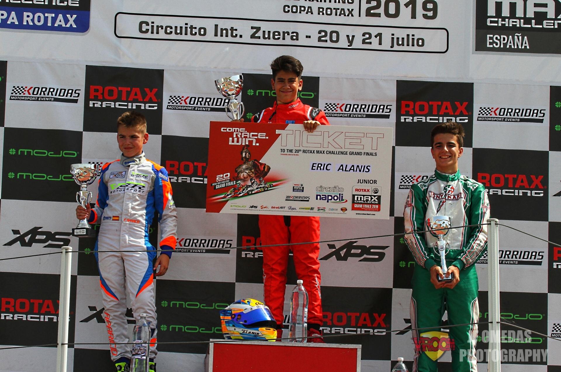 Copa Rotax Junior - Eric Alanis campeón