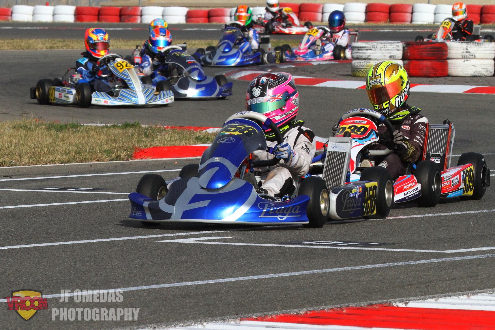Iame Winter Cup: Qualifying optimista para los pilotos españoles