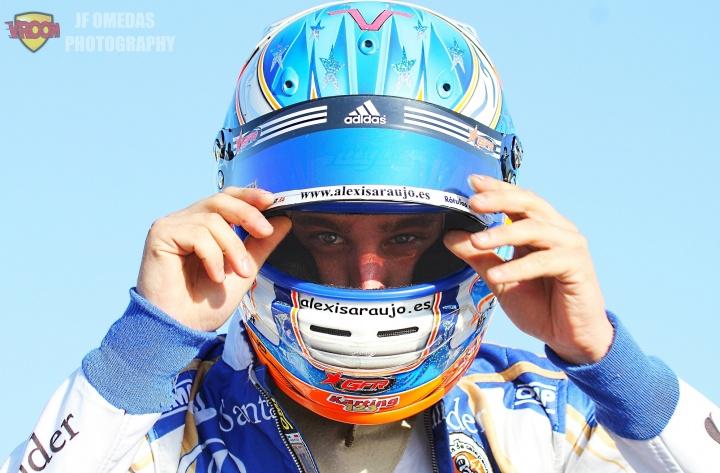 Alexis Araújo, piloto a tiempo completo en 2018