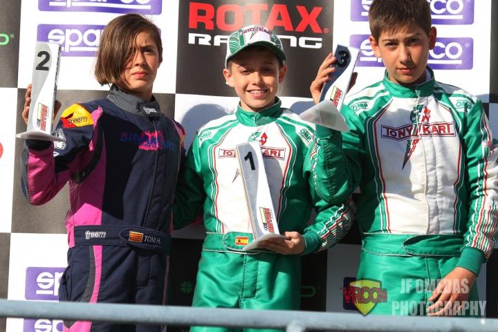 Series Rotax Motorland - Daniel Nogales se impone en Junior