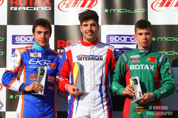 Series Rotax DD2 - Doblete de Bruno Borlido en Motorland