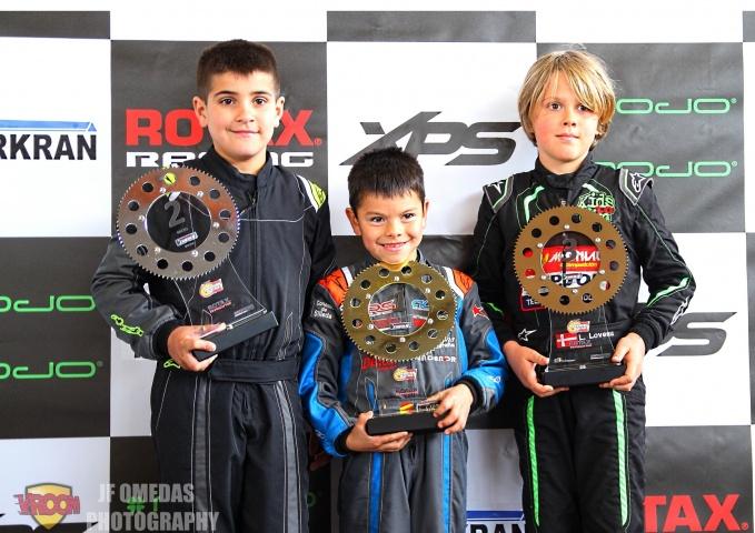 Series Rotax Micro - Doble victoria para Christian Costoya en Zuera