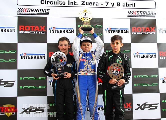 Series Rotax Mini - Nuevo doblete de Adrián Malheiro