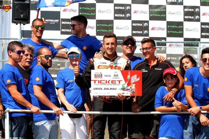 Los españoles de las Rotax Grand Finals - Oriol Dalmau (DD2)