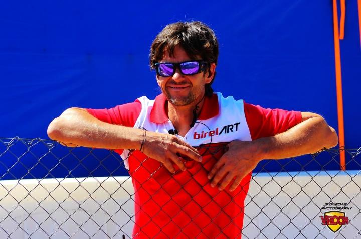 Ángel Burgueño vuelve al karting después de 25 años (*)