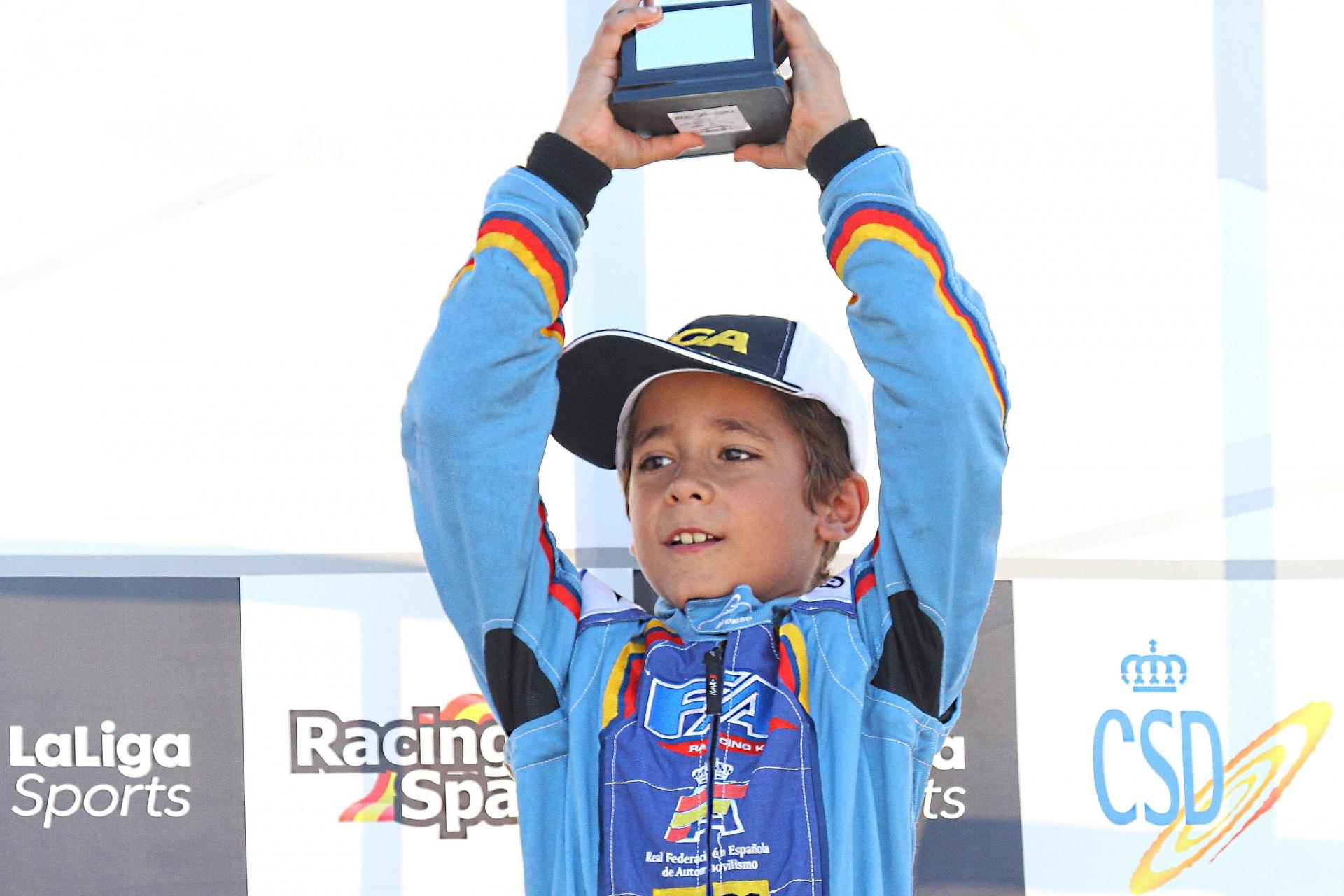 Álex Martínez - Campeón CEK Academy