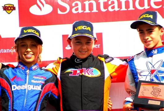 CEK Cadete – Vidales revalida el título y Lino Collado se estrena en la categoría.
