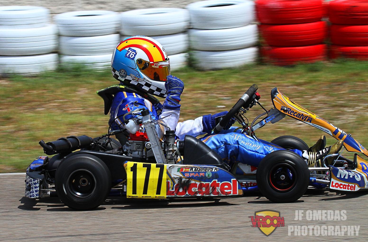 Copa Rotax Mini - Título con doblete para Adrián Malheiro