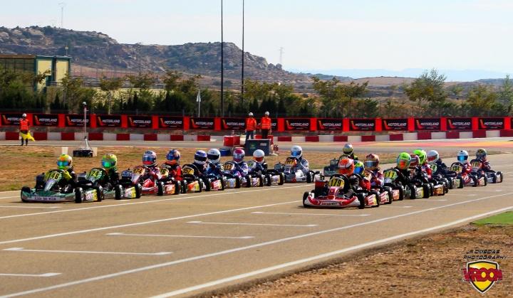 Daniel Nogales y Lucas Martín ganan en Motorland, Quique Bordas campeón de Mini.