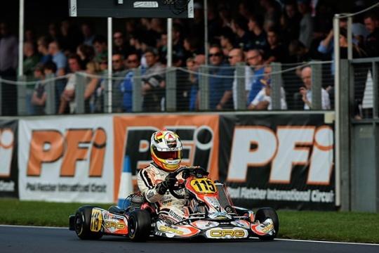 Europeo KF y KFJ en PFI. Pedro Hiltbrand quinto.