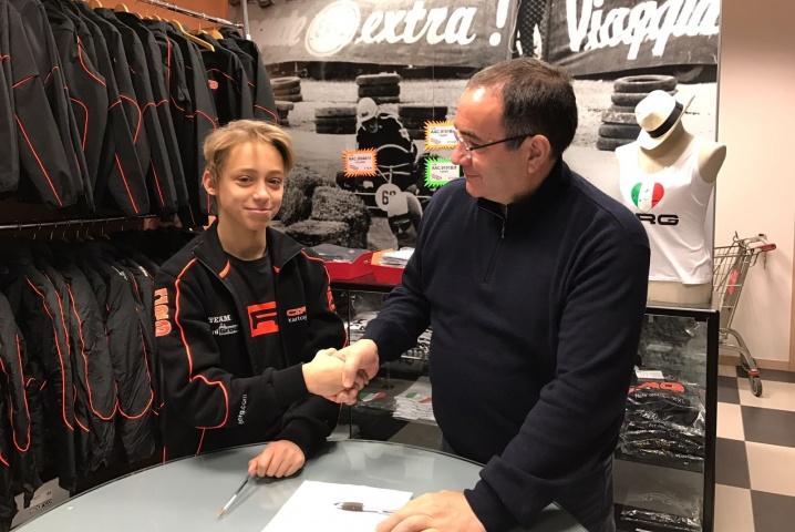 Kilian Meyer en OK y Enrico Prosperi en KZ2, pilotos oficiales CRG