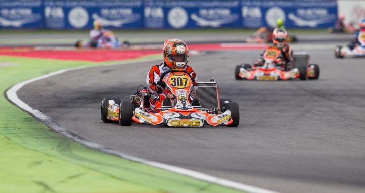 Europeo KZ2 Adria - Fin de semana difícil para los nuestros