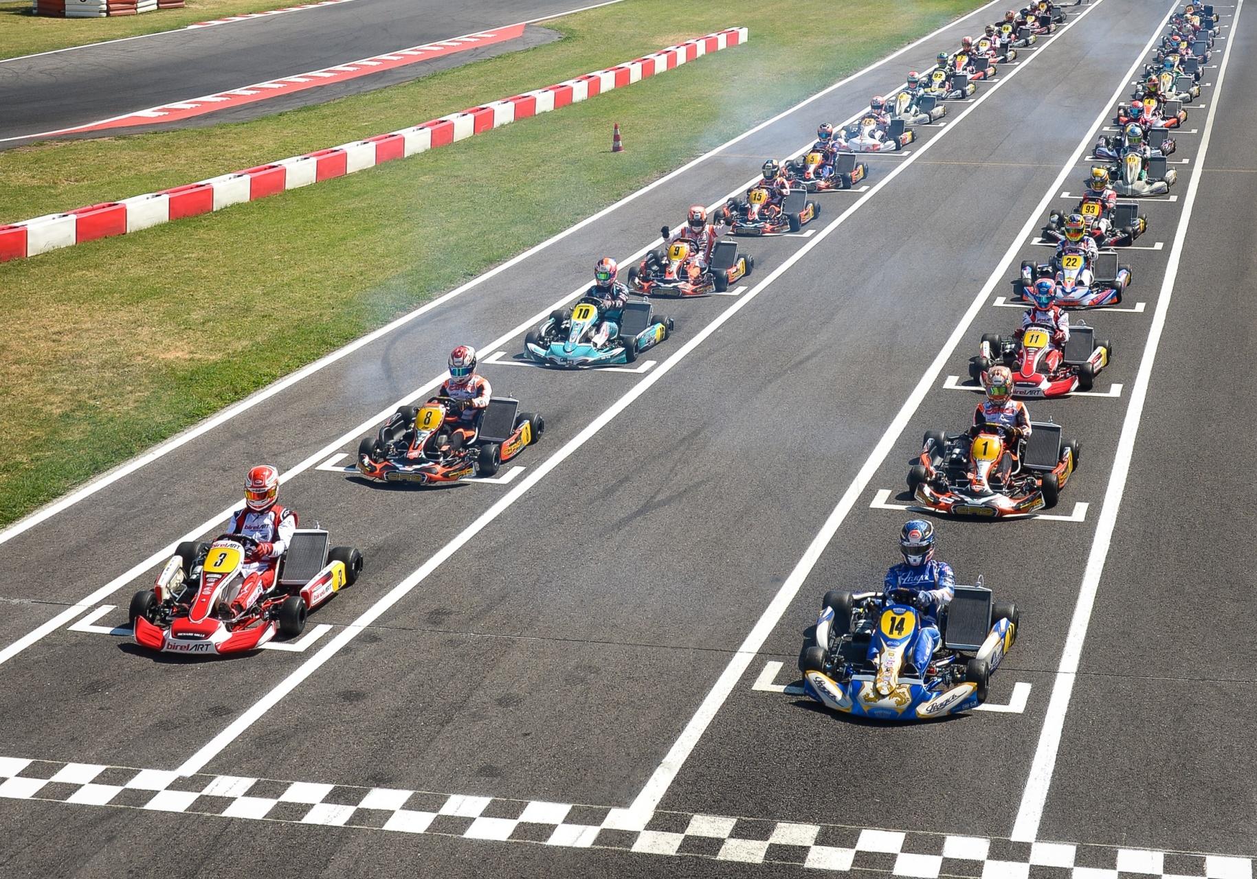 Campeonato del Mundo Karting FIA: Turno para KZ, KZ2 y Academy Trophy