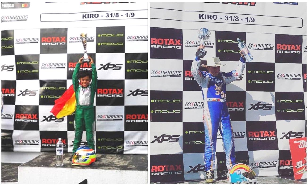 Christian Costoya y Adrián Malheiro, Campeones también en Portugal