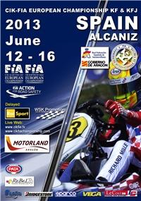 Europeo CIK-FIA de KF y KFJ, el turno de Motorland
