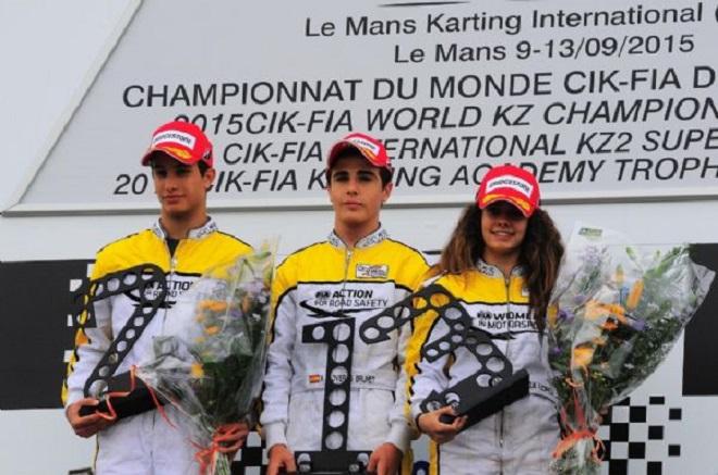 Academy Trophy - Marta García logra el título, Xavier Lloveras subcampeón.